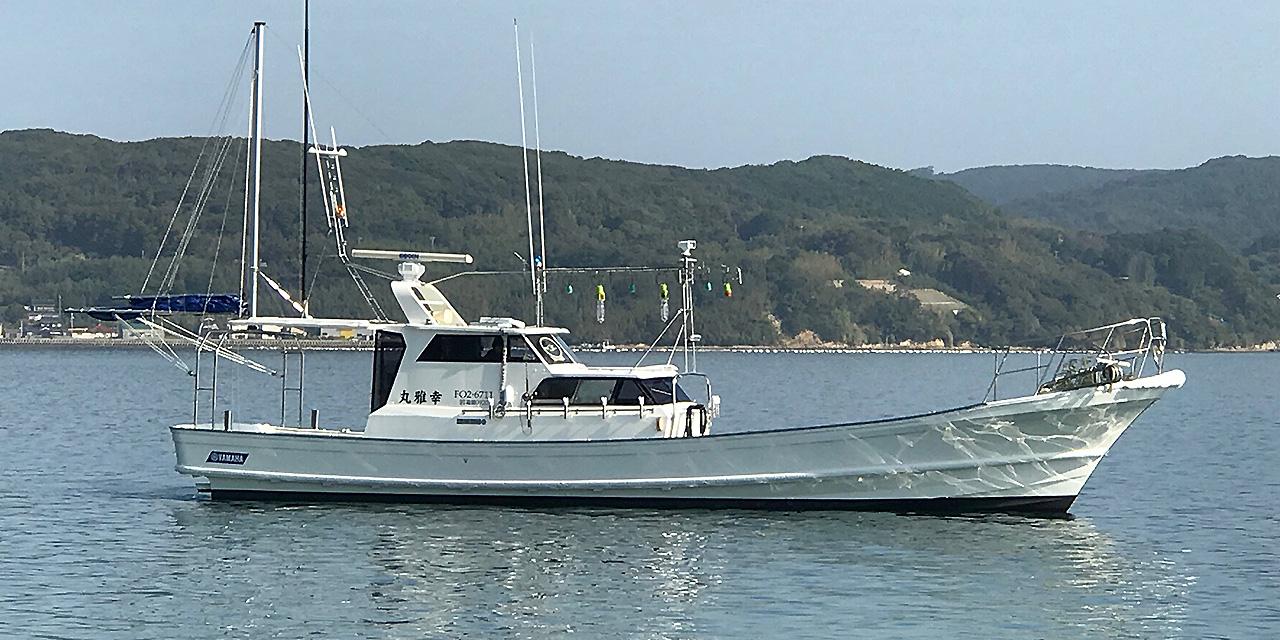 北九州 遊漁船 ポントス 幸雅丸